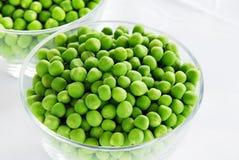 młodzi zieleni grochy zdjęcie stock