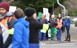 Młodzieżowy lekarka strajk Fotografia Royalty Free