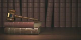 Młoteczek na tle rocznika prawnik rezerwuje Pojęcie prawo ilustracji