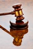 Młoteczek sędzia obrazy stock