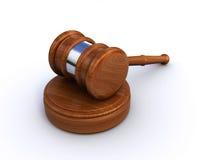 młoteczka sędzia Zdjęcie Royalty Free