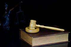 młoteczka sędziego fotografia realistyczna Obrazy Royalty Free