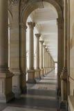 Młyńska kolumnada, Karlovy Zmienia obraz stock