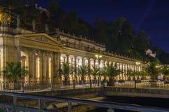 Młyńska kolumnada, Karlovy Zmienia fotografia royalty free