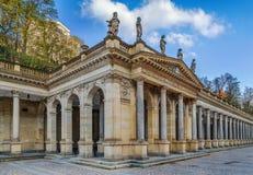 Młyńska kolumnada, Karlovy Zmienia obraz royalty free