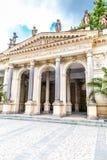 Młyńska kolumnada - Karlovy Zmienia, republika czech zdjęcia stock