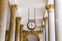 Młyńska kolumnada - Karlovy Zmienia, republika czech zdjęcie stock