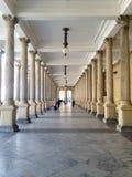 Młyńska kolumnada, Karlovy Zmienia, republika czech obrazy royalty free