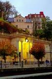 Młyńska kolumnada, Karlovy Zmienia, republika czech obraz stock