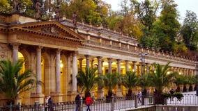 Młyńska kolumnada, Karlovy Zmienia, republika czech zdjęcia stock