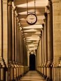Młyńska kolumnada przy nocą zdjęcie stock