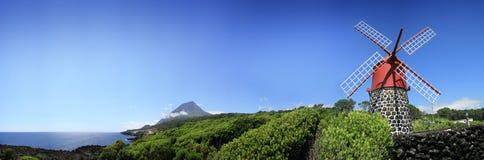 MŁYŃSKA PICO góry panorama Zdjęcie Royalty Free