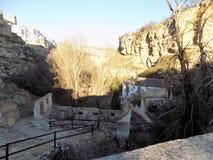 Młyńska ruina Alhama de Granada Fotografia Royalty Free