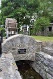Młyński koło na madery wyspie, Galway miasto obrazy stock