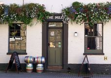 Młyński pub, Cambridge, Anglia Fotografia Stock