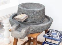 Młyński stary kamień Fotografia Stock