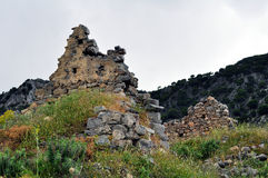 młyńskie ruiny fotografia stock