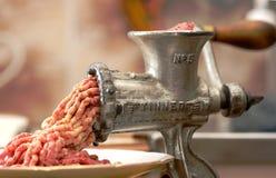 młynek mięsa Obrazy Royalty Free