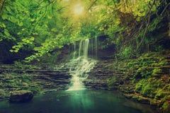125m保加利亚colldet10532 com这里dreamstime高度高href http横向使更多山自然现象照片praskalo raiskoto视图瀑布万维网环境美化 免版税库存照片