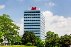 3M公司总部修造 免版税图库摄影