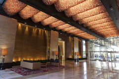 M度假旅馆大厅在拉斯维加斯, 2013年8月20日的NV 免版税库存图片