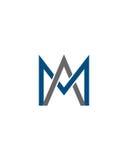 M或MA最初象1财政业务保险摘要 免版税图库摄影