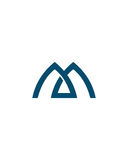 M或MA最初象2财政业务保险摘要 免版税库存图片