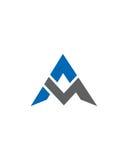M或MA最初象3财政业务保险摘要 图库摄影