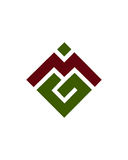 M或MG最初象1财政业务保险摘要 免版税库存照片