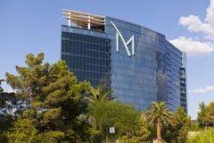 M手段外部在拉斯维加斯, 2013年8月20日的NV 库存图片