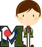 M是为Mod 库存例证