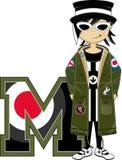 M是为Mod 向量例证