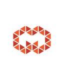 M标注姓名起首字母象1财政业务保险摘要 库存照片
