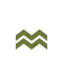 M标注姓名起首字母象3财政业务保险摘要 免版税库存照片