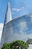 306m角度是楼房建筑铕hdr地标伦敦新的scrapper碎片射击天空细微的最高的下面宽意志 库存图片