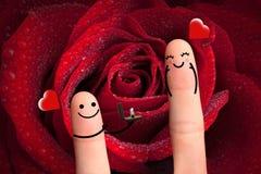 M'épouserez-vous ? concept de valentine. Images libres de droits