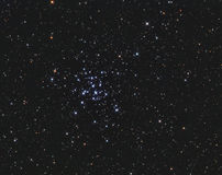M36 ανοικτή συστάδα Auriga Στοκ φωτογραφία με δικαίωμα ελεύθερης χρήσης