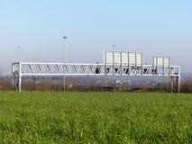 M25 ατσάλινος σκελετός αυτοκινητόδρομων, Hertfordshire στοκ φωτογραφίες με δικαίωμα ελεύθερης χρήσης