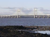 M4 γέφυρα Severn που διασχίζει, Gloucestershire Στοκ φωτογραφίες με δικαίωμα ελεύθερης χρήσης