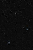 M51 γαλαξίας και Alkaid δινών Στοκ φωτογραφίες με δικαίωμα ελεύθερης χρήσης