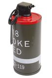 M18 κόκκινη χειροβομβίδα καπνού Στοκ Εικόνα