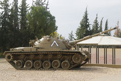 M60 κύρια δεξαμενή μάχης Patton στην επίδειξη Στοκ φωτογραφία με δικαίωμα ελεύθερης χρήσης