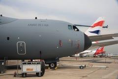A400M στο 2013 ο αέρας του Παρισιού παρουσιάζει Στοκ εικόνα με δικαίωμα ελεύθερης χρήσης