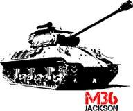 M36 Τζάκσον Στοκ Εικόνα