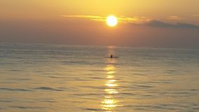 A M Восход солнца стоковые изображения