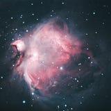 M42 - Межзвёздное облако Ориона стоковые изображения