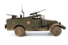 M3侦察车一个右边视图 库存照片