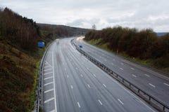 M5机动车路,英国 免版税库存图片