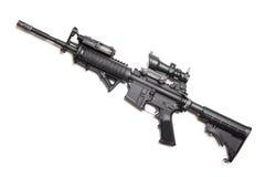 M4A1没有杂志的马枪 库存图片