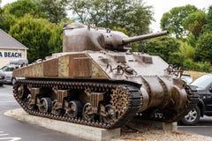 M4谢尔曼坦克 库存照片